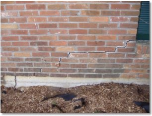 Foundation Settlement Causes, foundation, repair, bowed walls, settlement, piering, foundation repair